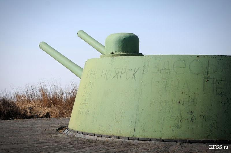 Башенная батарея №220 на полуострове Гамова