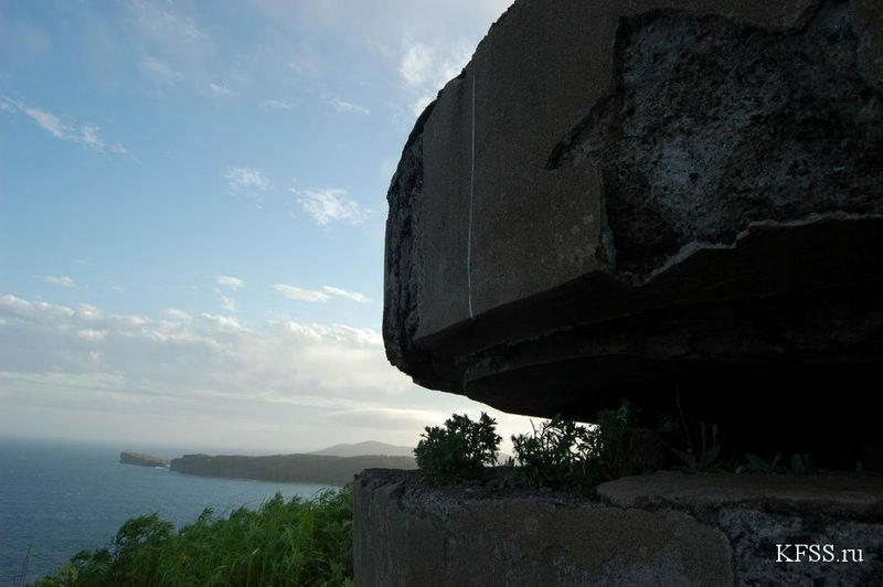 """РЛС """"Шкот"""" Ворошиловской батареи на острове Русском"""