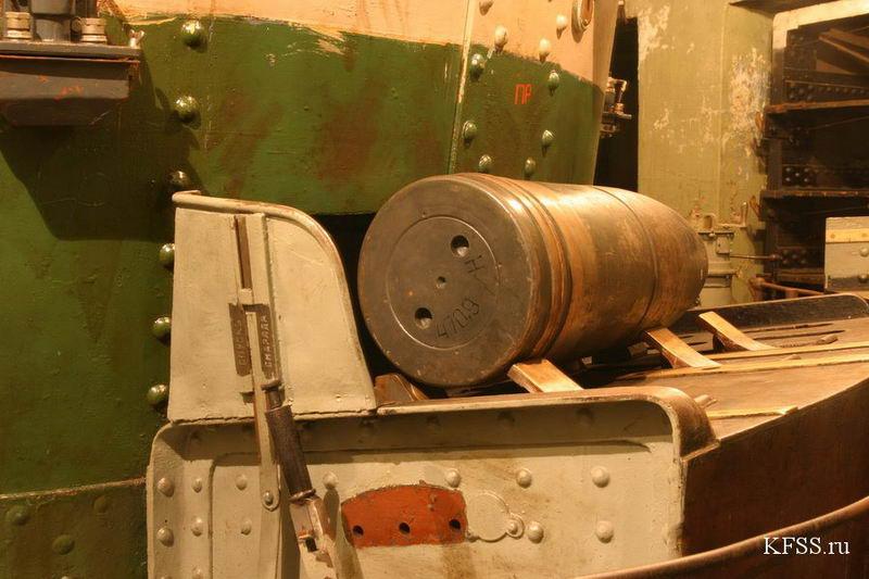 музейная часть Ворошиловской (№981) батареи, остров Русский