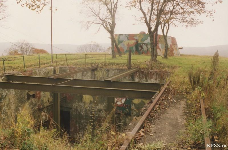 Остров русский, Ворошиловская батарея, архивные фотографии