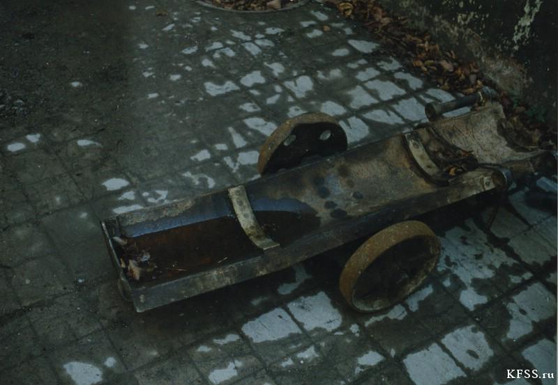 музейная часть Ворошиловской (№981) батареи, остров Русский, архивные фотографии