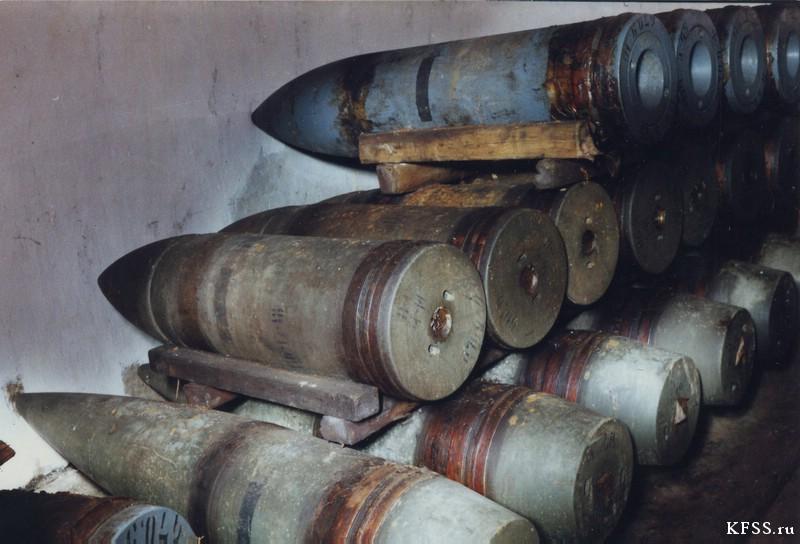Ворошиловская (№981) батарея, остров Русский, архивные фотографии