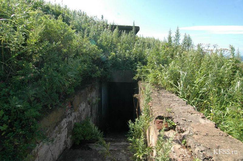 командный пункт Ворошиловской батареи, остров Русский