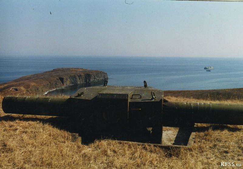 дальномер, командный пункт Ворошиловской батареи, остров Русский