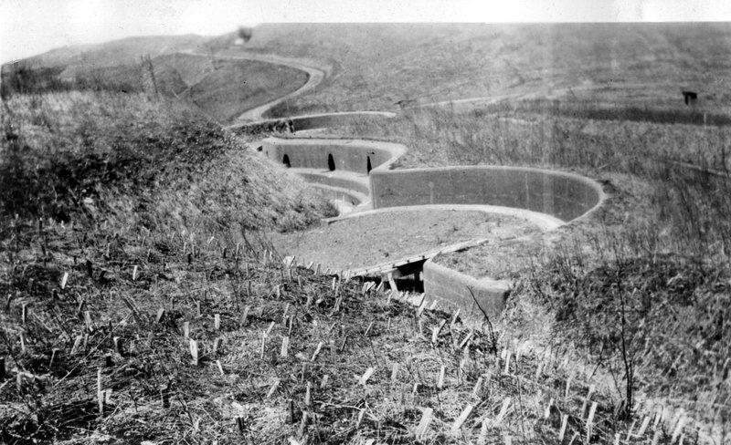 Форт №1 Владивостокской крепости, расположенный близ Горностая, архивные кадры