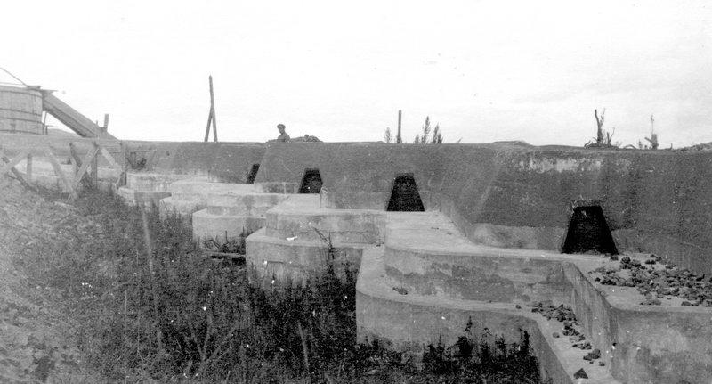 Ступенчатый бруствер, Форт №1 Владивостокской крепости, расположенный близ Горностая, архивные кадры