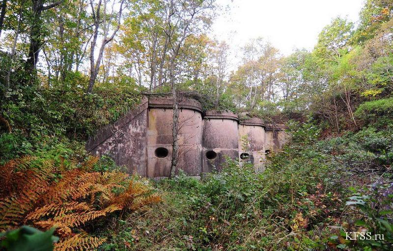 Форт №12 Владивостокской крепости, кофр форта