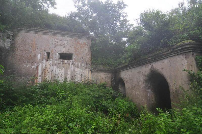 Фотографии форта Русских Владивостокской крепости