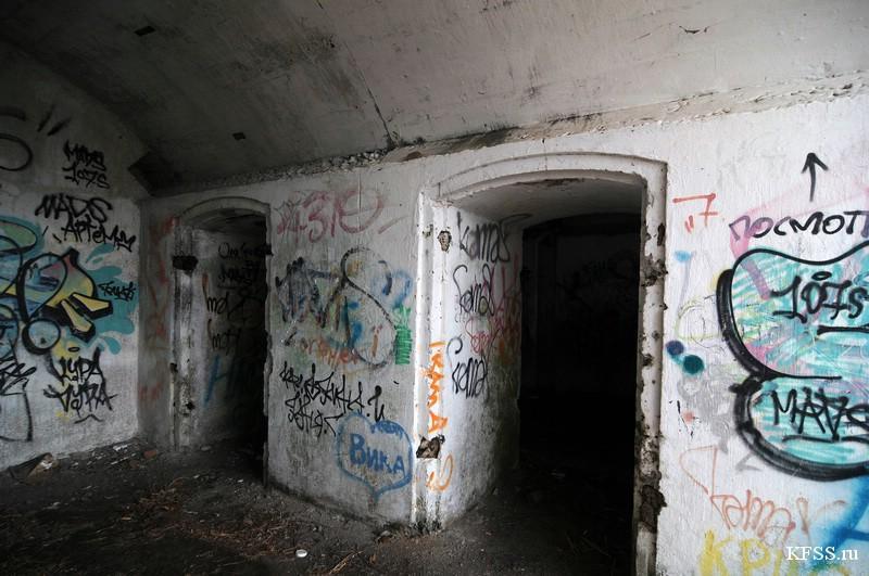 Капониры и полукапониры Владивостокской крепости KFSS