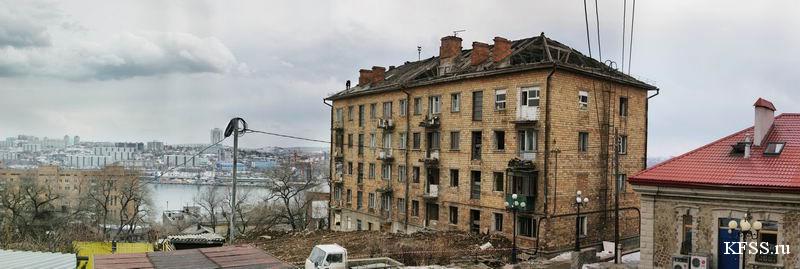 Снос дома Луцкого 10 к саммиту АТЭС