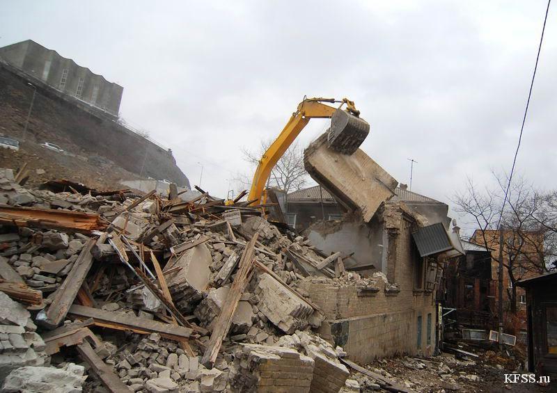 Снос домов во Владивостоке к саммиту АТЭС