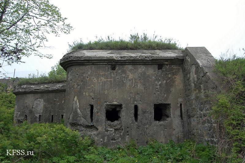 Укрепления второй линии обороны крепости