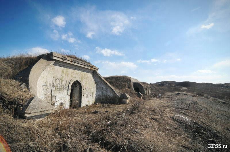 Сухопутные батареи Владивостокской крепости