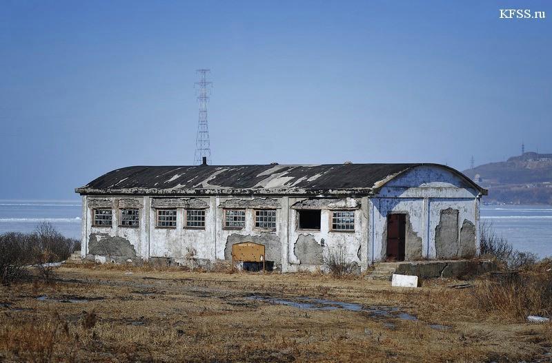 Ацетилено-наполнительная станция Гидрографической службы ТОФ, в/ч №22909 остров Русский