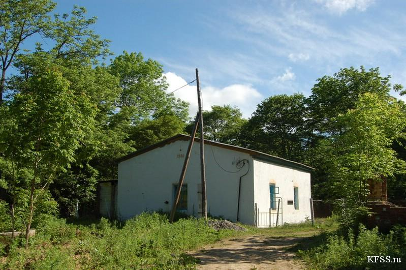 Школа связи на острове Русском