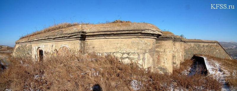 Полукапонир форта Муравьёва-Амурского Владивостокской крепости на горе Холодильник