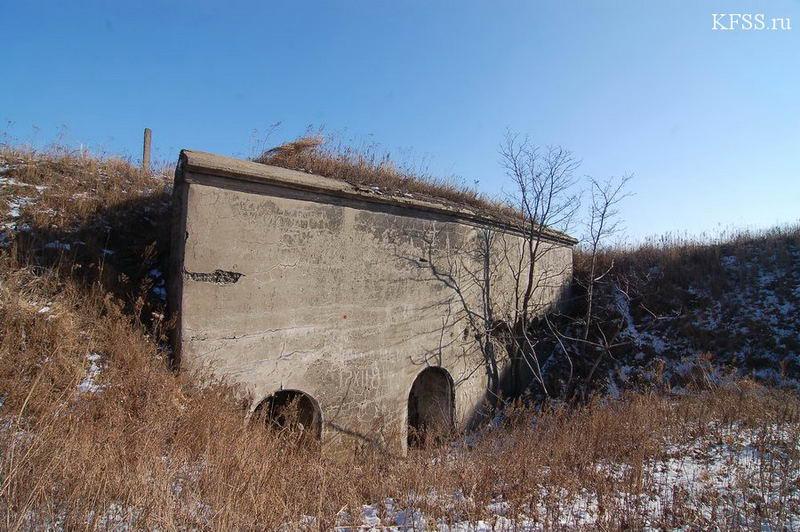 Кофр форта Муравьёва-Амурского Владивостокской крепости на горе Холодильник